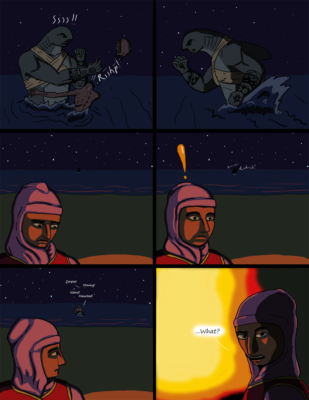 The Wide Ocean  - Page 40