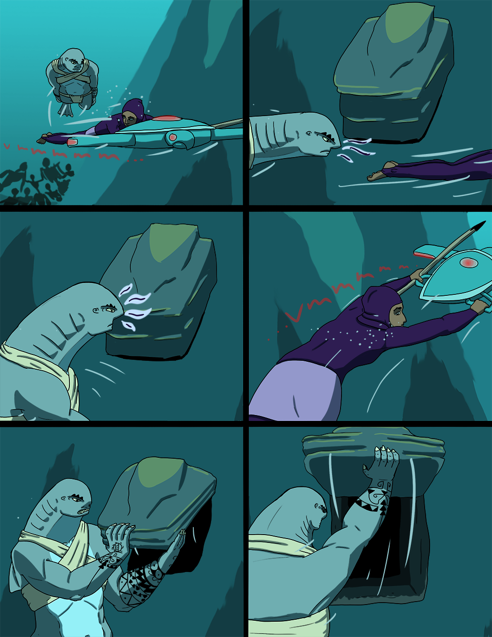 The Wide Ocean - Page 71